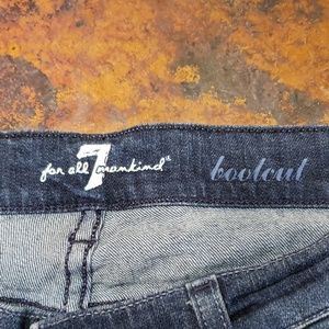 7 For All Mankind Jeans - EUC 7 For All Mankind Bootcut Jeans Size 29